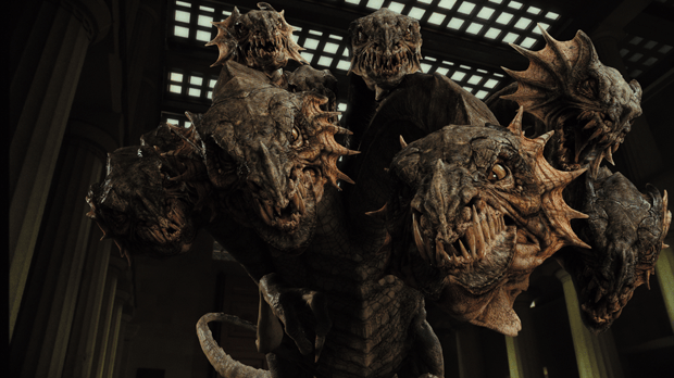 The Hydra was like a junkyard dog on a chain, enhanced by RenderMan's point-based lighting and other DD refinements.