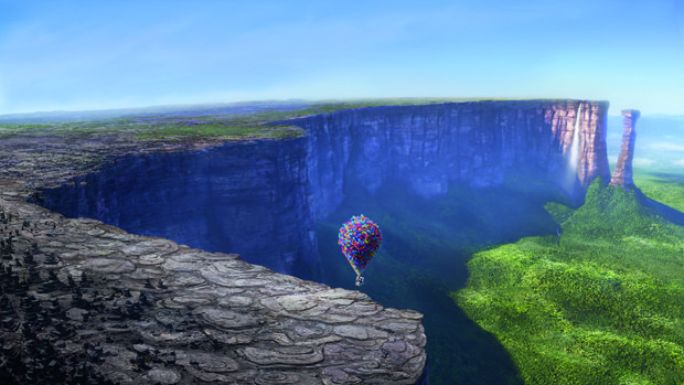 Up contains the level of filmmaking that Moore aspires to someday. Courtesy of Disney/Pixar.