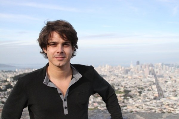 Javier and the SF skyline