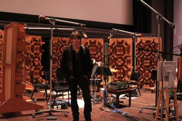 Javier on an ILM sound stage