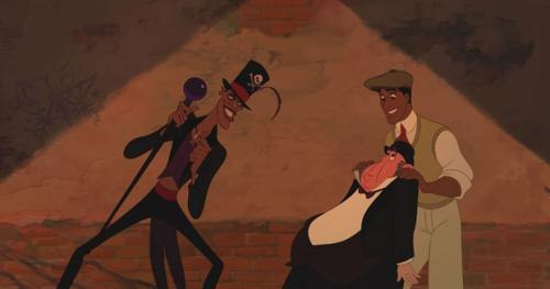 The Shadow Man does his thing in The Princess and the Frog