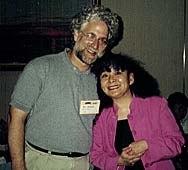 AWN publisher/president Ron Diamond with festival director Sayoko Kinoshita.© AWN.