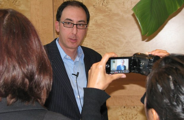 ICM agent Craig Bernstein gives his thoughts on short films to AWNtv's videoblog.