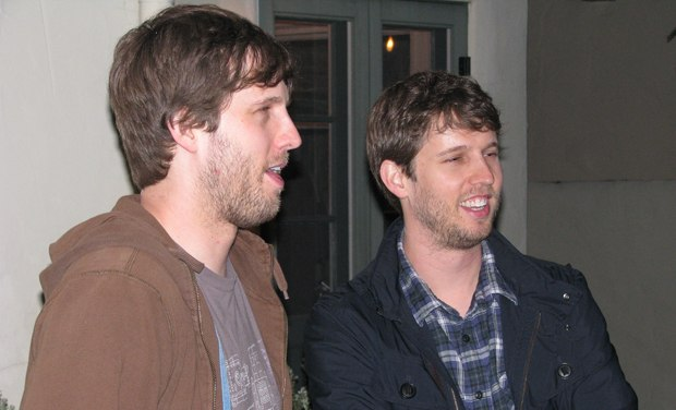 Previs artist Dan Heder and his twin brother Jon Heder of Napoleon Dynamite fame.