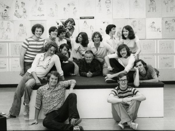 The '75 graduating class of Cal Arts included such rising stars as John Lasseter, Brad Bird and John Musker.