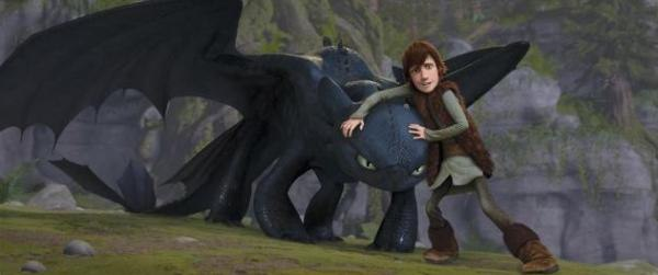It is when Hiccup slowly befriends Toothless, that the audience is really drawn in to the magic of this film.