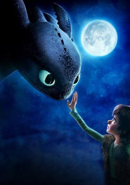 When Hiccup touches Toothless for the first time, the directors touch the audience in a wonderful way….