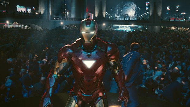 Iron Man has a new suit and a few new hidden gadgets, too.