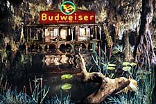 The primordial swamp where it all began. © Anheuser-Busch.