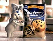 An example of an animated ad character with longevity is Pillsbury's extensively-merchandised Pillsbury Doughboy.© The Pillsbury Co.