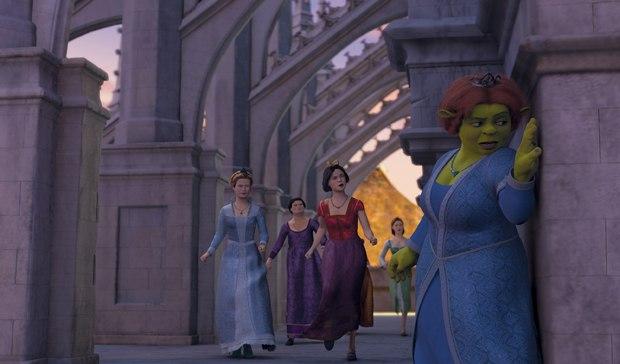 Hair was a big improvement in Shrek the Third.