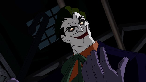 "Winick is impressed with what voice actor John DiMaggio has done with the Joker in ""Batman: Under the Red Hood."""