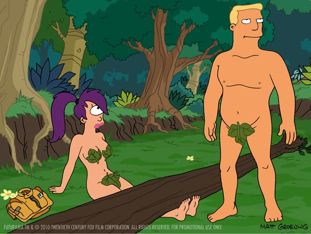 Leela and Zapp first have to finish their fling.