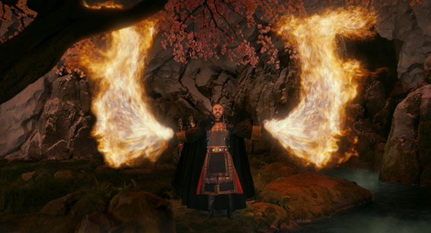 Shyamalan changed the rules of fire bending with only the most powerful able to solely use the power of their chi.
