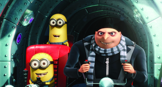 Gru family values were quickly adopted by Mac Guff.