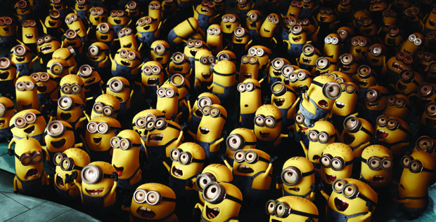 Like Ice Age's Scrat, the Minions steal the show.