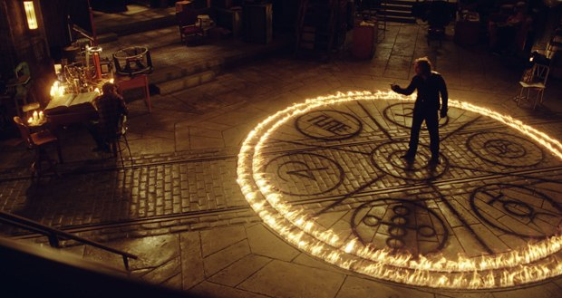 Double Negative was also responsible for Merlin's circle and other training effects in the lab.
