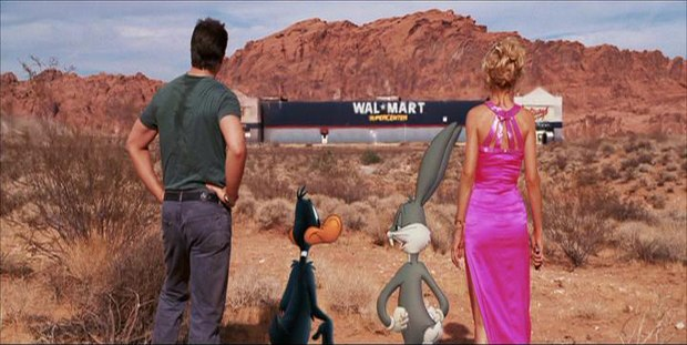 Walmart integrated in Looney Tunes: Back in Action. Courtesy of Warner Bros.