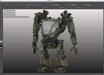 Mari, the texture paint package developed for Avatar and now at The Foundry, will get an instant speed boost from Fermi. Courtesy of Fox.