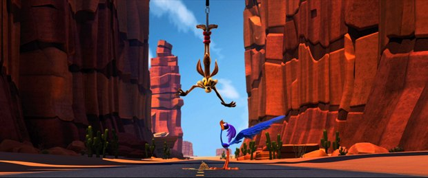 Road Runner and Coyote are on a whole new thrill ride in 3-D.