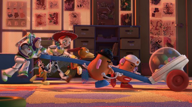 Toy Story 3 is the biggest hit of the year and got a 3-D boost. Courtesy of Disney.