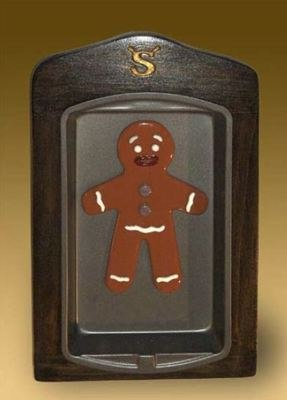 Gingy in stained glass by David Bird