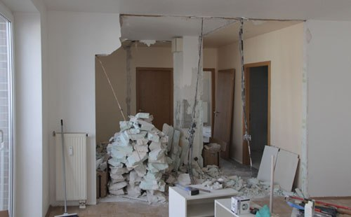 Day 3; tearing the walls down