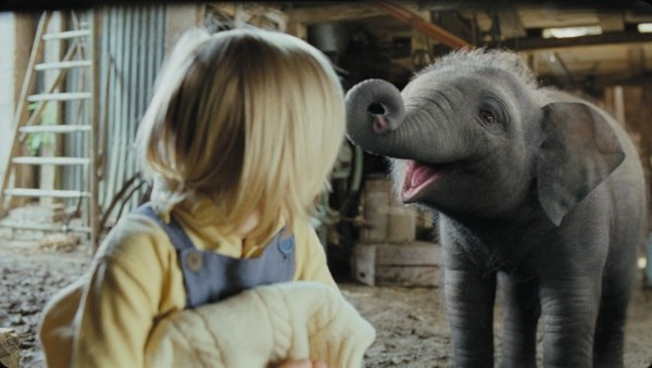 A last-minute CG elephant almost steals the show.