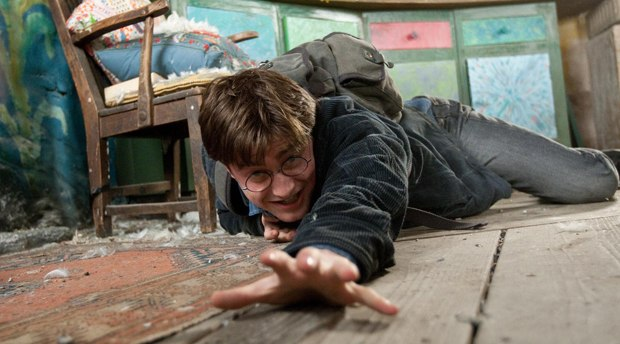Potter hits the road to destroy his nemesis. Courtesy of Warner Bros.