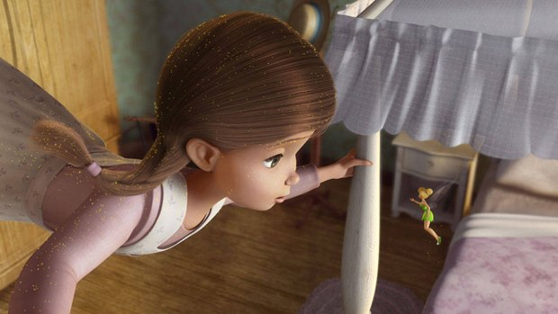 Tinker Bell comes to the rescue in theaters before hitting DVD and Blu-ray. Image courtesy of Walt Disney Home Entertainment.