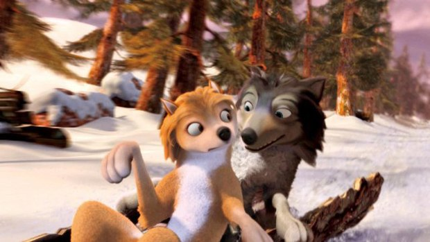 Alpha and Omega marks Crest Animation's first of three films with Lionsgate. Image courtesy of Lionsgate.