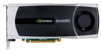 The Quadro 6000 offers up to 5x faster performance