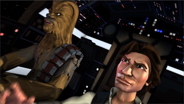Star Wars: The Solo Adventures fan film produced by DAVE School students.