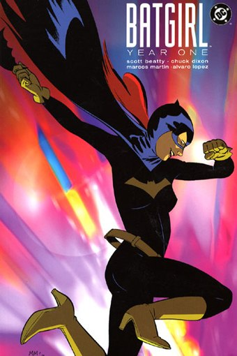 Batgirl: Year One would be on the top of Montgomery's