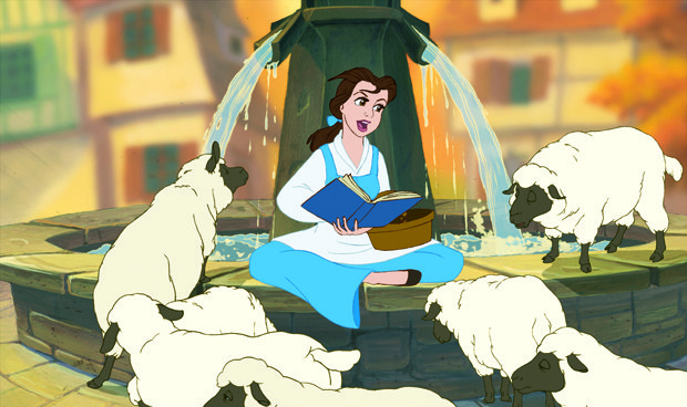 Belle was a more modern protagonist.