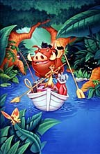 Timon and Pumbaa. © The Walt Disney Company. All Rights Reserved.