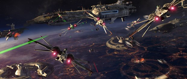 Revenge of the Sith's space battle will offer intriguing 3-D possibilities.