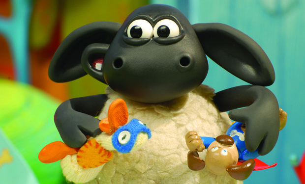Aardman gets nice depth of field shooting digitally, but you have to work harder getting the shot you want.