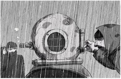 Priit Parn's Tuukrid Vihmas (Divers in the Rain).