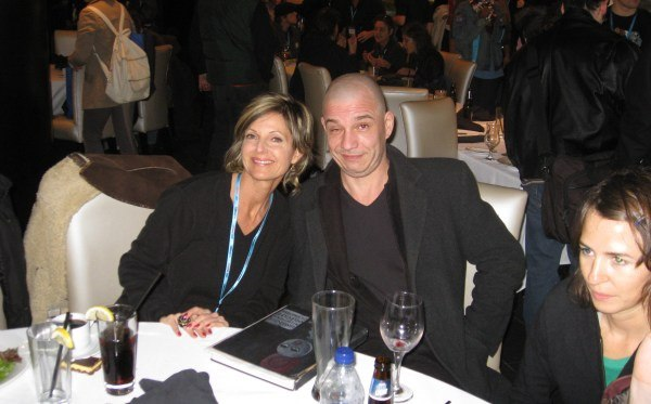 Anne Denman of DHX Media and Andreas Hykade of Studio Film Builder.