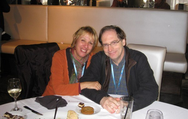 Yvette Kaplan and Jerry Beck.