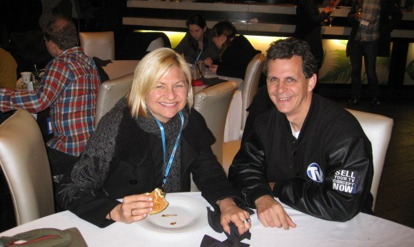 Starz' Heather Kenyon and Mark Simon from A&S Animation.