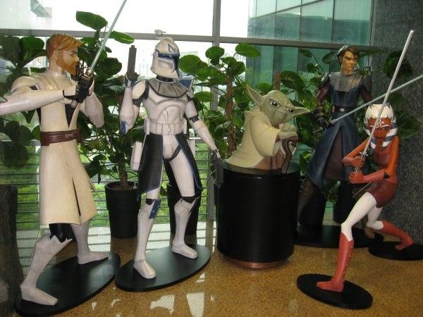 Lucasfilm Animation lobby