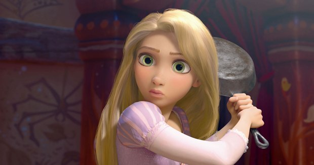 Rapunzel's gigantic eyes were a hard sell, but the directors were redeemed by the results.