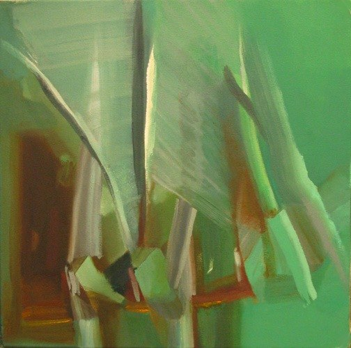 24 June 2010 by Caroline Leaf (oil on canvas, 24 x 24 in.) Courtesy of the artist.