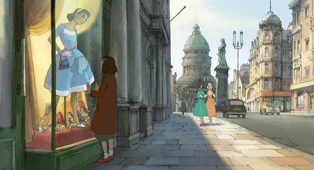 Chomet went for a 101 Dalmatians look for the backgrounds, which come alive with the help of Digital Fusion.