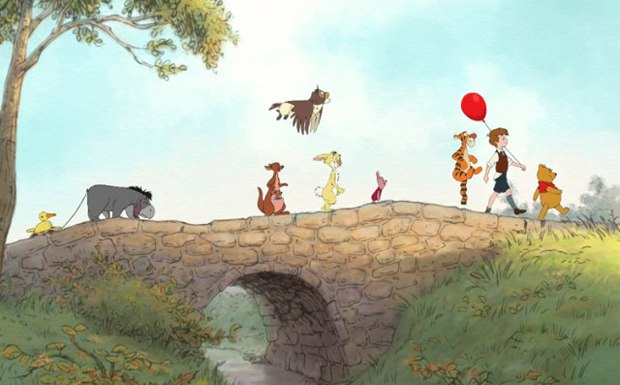 Winnie the Pooh is the latest hand-drawn animated from Disney since they merged with Pixar. Courtesy of Walt Disney.