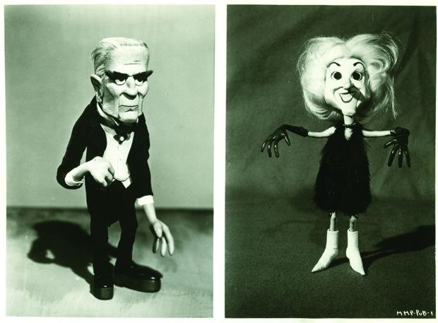 [Figure 1.10] Boris and Monster's Mate puppets from Mad Monster Party. (© 1967, Rankin/Bass Productions/Rick Goldschmidt Archives.)