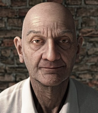"""""""Ben"""" is a technical test rendered in modo 501 by Greg"""
