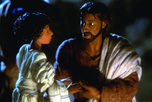 [Figure 1.32] A scene from The Miracle Maker. (© 1999 SAF and Christmas Films.)